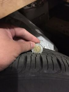 Dodge Journey A/T Tires 225/55R19 on Stock 19 inch Rims 1000 OBO Edmonton Edmonton Area image 1