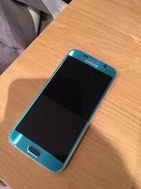 Samsung S6 TOPAZ blue