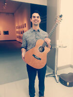 Professional Classical/Acoustic fingerstlye guitarist for hire