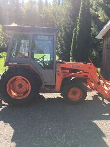 Kubota l3410 loader and snow blower