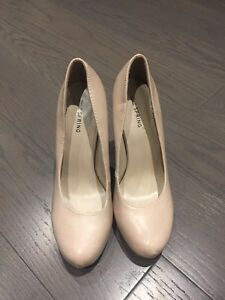 Nude Heels - size 7.5 (from Spring Shoes) Kingston Kingston Area image 2