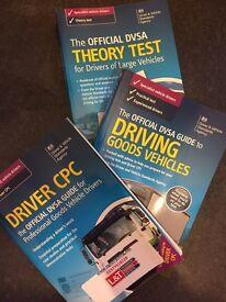 Hgv 1 and 2, Driver CPC books