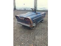 Vintage toy pedals car