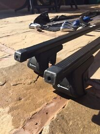 Official Vauxhall roof rack to use with roof rails
