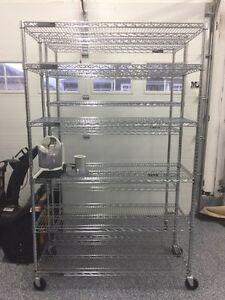 Costco Bought Shelving Units (x4)