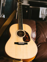 Larrivee L-02 with added pickup