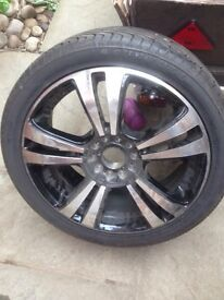 Sunfull tire and alloy