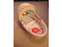 Moses basket. Crib. From mothercare