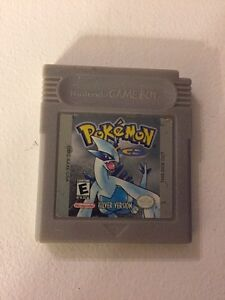 Pokemon silver, gameboy