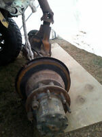 Diff arriere ford f350 dana 80 gearer 3.73 double roue 2003