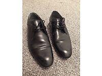 TED BAKER men's black leather size 9