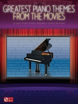 Greatest Piano Themes from the Movies Sheet Music Piano Solo SongBook  002502441