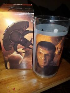 "Star trek ""Spock"" collectors glass. Brand new in box!"