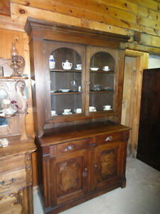 ***REDUCED PRICE***ANTIQUE STEP BACK CUPBOARD