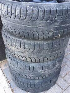 195/65r15 Michelin X-ice winter tires and rims. $300 firm Regina Regina Area image 3