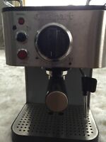 Cuisines espresso maker with frother build in