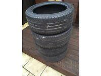 225 45 17 Goodyear Efficient Grip Tyres