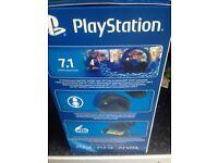 PS4 Sony wireless headset Brand new