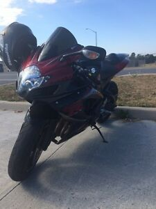 LF GSXR 750 full exhaust