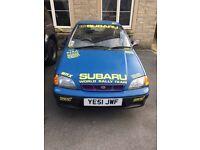 Subaru justy 1.3GX 4wd 4x4