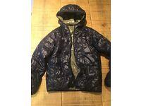 Boys age 12-13 reversible LACCOSTE coat