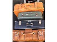 Vintage / Retro Collector's Suitcases