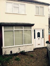 Three bed semi to let