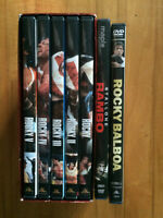 Rocky DVD set plus extras.