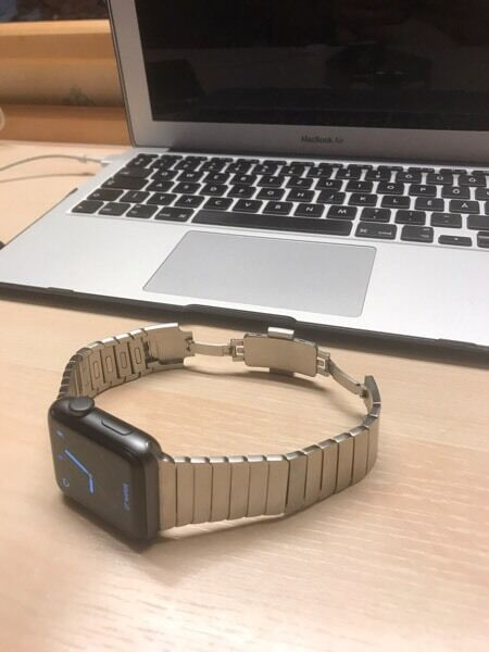 Apple Watch 42mm series 2 with warrantyin North Finchley, LondonGumtree - Apple Watch 42mm series 2 with warranty and a never used original sport band, or with a used but original apple stainless steel 42mm link bracelet add a extra £200 quid on it