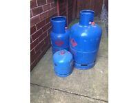 Full Gas bottles