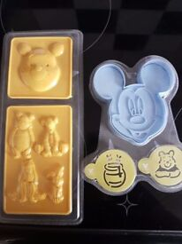 Disney Cookie cutter and moulds