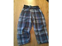 BEN SHERMAN pyjama trousers -boys1/2 years old