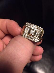 Mens 10k gold ring