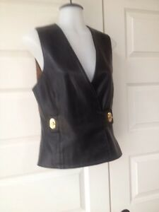 Neto made in Canada supple leather vest like new 6