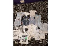 Buhdle of Newborn boys clothes