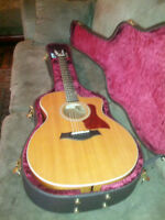 2013 Taylor 214ce Koa Acoustic/Electric Guitar