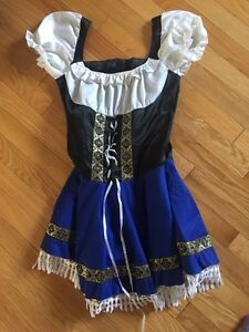 Beer maid adult Halloween costume size small