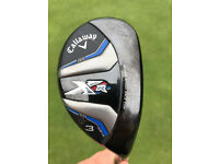 CALLAWAY XR16 3 HYBRID R FLEX EXCELLENT CONDITION
