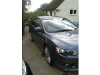Lancer Sport back.full service history.MOT may 2017. Spare set of rims with winter tyres included