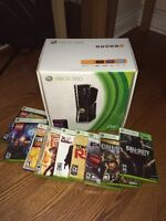 250GB Xbox 360 Mint Condition Bundle