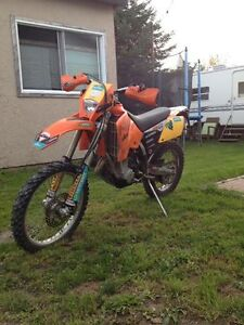 2005 KTM 450 with ownerships