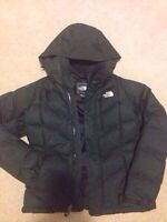 The North Face winter jacket coat, women's size small, black