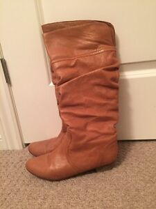 Steve Madden Leather Boots (8.5)