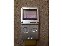 Gameboy advance sp with Pokemon gold £35
