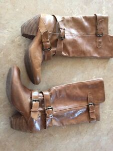 Aldo size 8 brown fall boots
