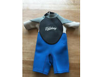 Billabong kids shorty wetsuit size 2 years