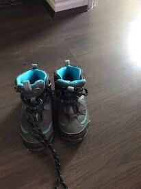 Kids walking boots