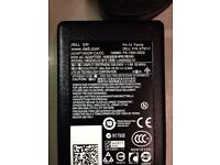 GENUINE DELL LAPTOP AC ADAPTER CHARGER WITH WALL PLUG FULL SET IN EXCELLENT CONDITION