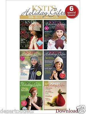 Knits Holiday Gifts 2006 2011 Collection Cd 6 Special Issues  Patterns