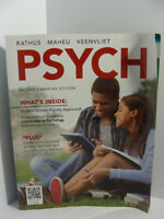 PSYCH 2nd CDN ed. by Rathus Maheu Veenvilet With CODE